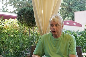English: David Icke in 2008