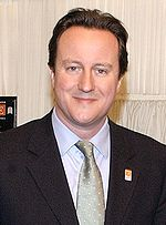 David Cameron, leader of the Conservative Party.