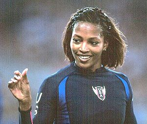 Dawn Burrell - Burrell at the 2000 Olympics