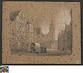 De Steenstraat in Brugge, 1844 - 1845, Groeningemuseum, 0041991000.jpg