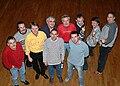 De gauche à droite, Jean-Louis, Stéphane, François, Italo, Didier, Dominique, Mikaël, Thierry, Pierre-Philippe et Daniel. Photo - Véronique Marchal.jpg