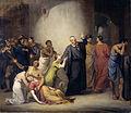 De zelfopoffering van predikant Hambroeck op Formosa, 1662 Rijksmuseum SK-A-4269.jpeg