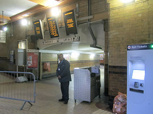 Deansgate railway station - Station concourse