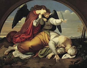 Johann Scheffer von Leonhardshoff - The Death of Holy Caecilia (1821)