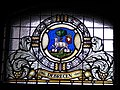 Debrecen. The 'Cities of Hungarian Kingdom', a series of stained glass. - National Archives of Hungary. Bécsikapu tér 2-4. Buda Castle Quarter, Budapest.JPG