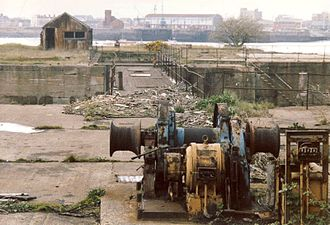 Cardiff Docks - Decline of Cardiff Docks (1990)