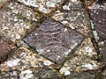 Decorated medieval floor tiles at Strata Florida abbey - geograph.org.uk - 652905.jpg
