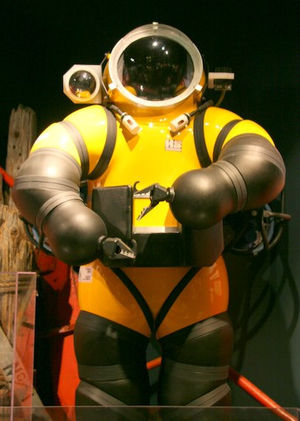 Atmospheric diving suit - Atmospheric diving suit
