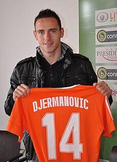 Dejan Djermanović Slovenian footballer