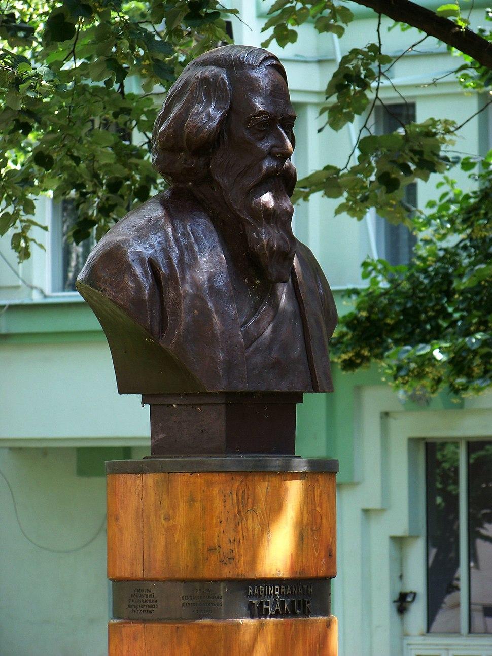 Dejvice, Thákurova, Thákurova busta (01)