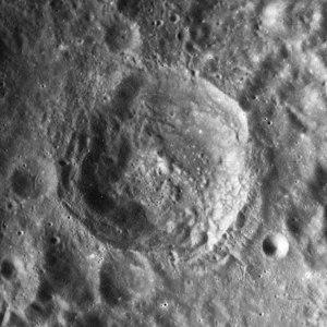Delporte (crater) - Image: Delporte crater AS15 M 0894
