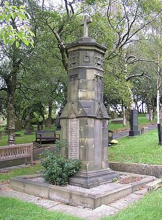 Denshaw - Denshaw's war memorial is situated in the village churchyard.