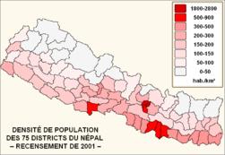 Densité de population du Népal.png