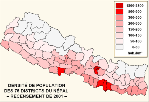 pour Chine il y a 28,5 billion personnes et le Nepal est 1.381 million