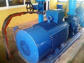 Densu River - Densu River's Densuano water supply pumping station