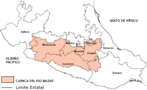 Balsas River - Balsas River basin