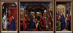 Rogier van der Weyden: Columba Triptych