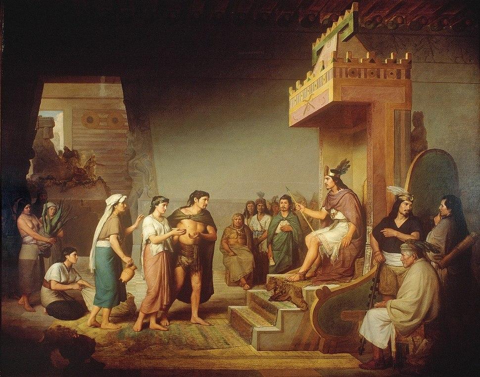 Descubrimiento del pulque José María Obregón Óleo sobre tela 1869
