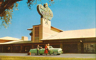 Desert Inn - The hotel in 1956