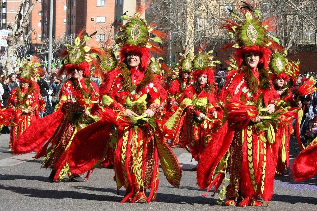Comparsa wikipedia la enciclopedia libre - Disfrazes para carnavales ...