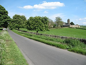 Dethick, Lea and Holloway - Dethick and surrounding fields