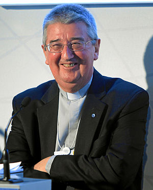 Archbishop of Dublin (Roman Catholic) - Image: Diarmuid Martin World Economic Forum 2013 crop