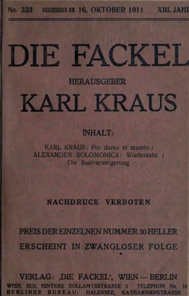 File:Die Fackel Nr. 333.djvu