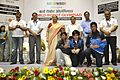 Dignitaries with Prize Winners - Valedictory Session - Indian National Championship - WRO - Kolkata 2016-10-23 9080.JPG