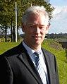 Dijkgraaf Herman Dijk van Waterschap Groot Salland bij de stuw Vechterweerd (cropped).JPG
