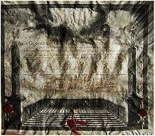 foto do diploma de um maçom de 1787