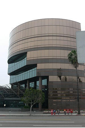 Directors Guild of America - Directors Guild of America building on Sunset Boulevard.