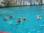 Olimpos'ta dalgıçlar