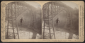 Dixon crossing Niagara below the Great Cantilever Bridge, U. S. A., by Barker, George, 1844-1894.png