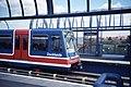 Docklands Light Railway - The DLR MUDCHUTE station. Sept 1989.jpg