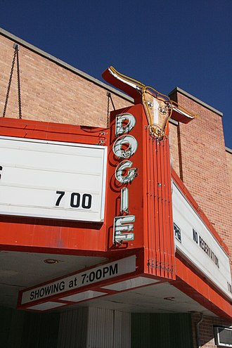 Newcastle, Wyoming - Dogie Theater, Newcastle