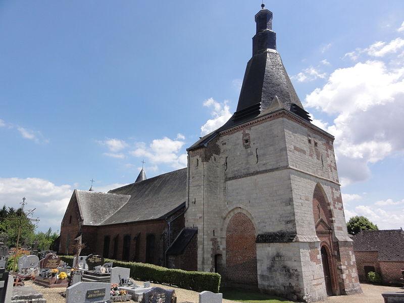 Dohis (Aisne) église, latéral