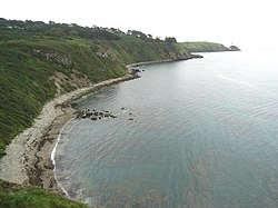 La Doldrum Bay a Howth vicino Dublino