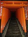 Donated torii at Hie Shrine.JPG