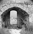 Doorkijkje vanaf de fortificatie op de stad Tripoli De Middellandse zee aan de , Bestanddeelnr 255-6395.jpg