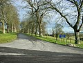 Driveway to Marston House - geograph.org.uk - 1164737.jpg
