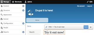 Drupal Web content management system
