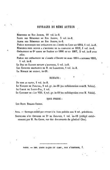 File:Du Casse - Mémoires et correspondance politique et militaire du prince Eugène, tome 10.djvu
