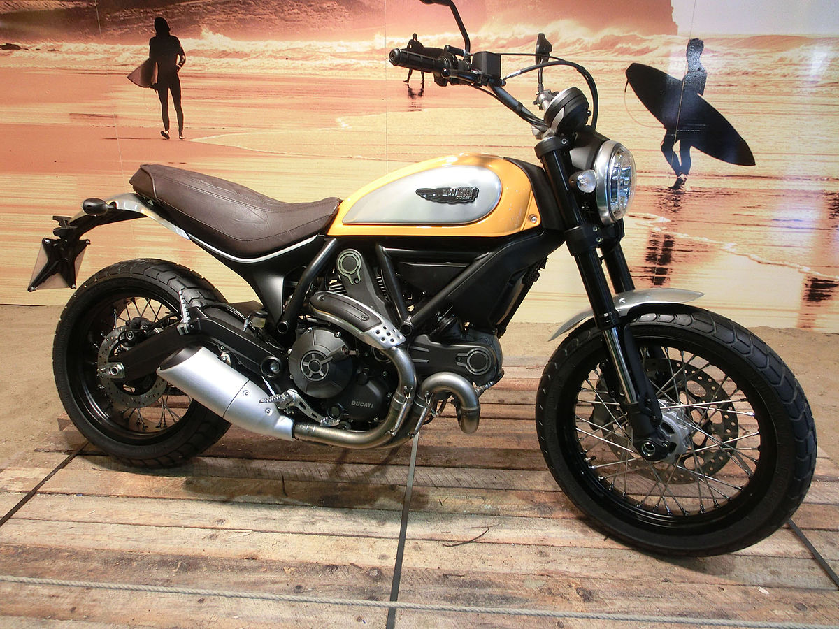 Ducati Scrambler Cafe Racer For Dayle Ride