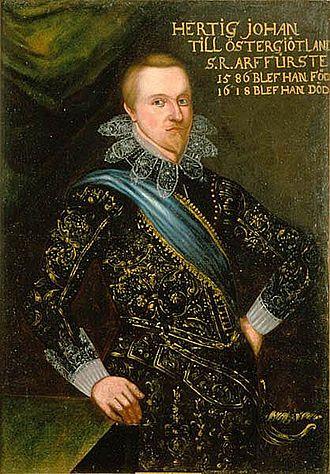 John, Duke of Östergötland - Image: Duke of Ostrogothia