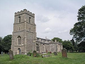 Dullingham - Image: Dullingham Church