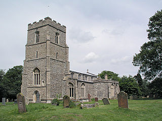 Dullingham Human settlement in England
