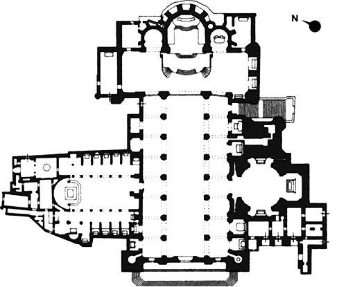 Duomo di napoli wikipedia for Pianta con la p