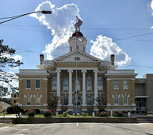 Duplin County Courthouse in Kenansville.