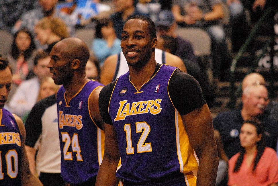 Dwight Howard Lakers February 2013
