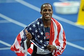 Dwight Phillips American long jumper